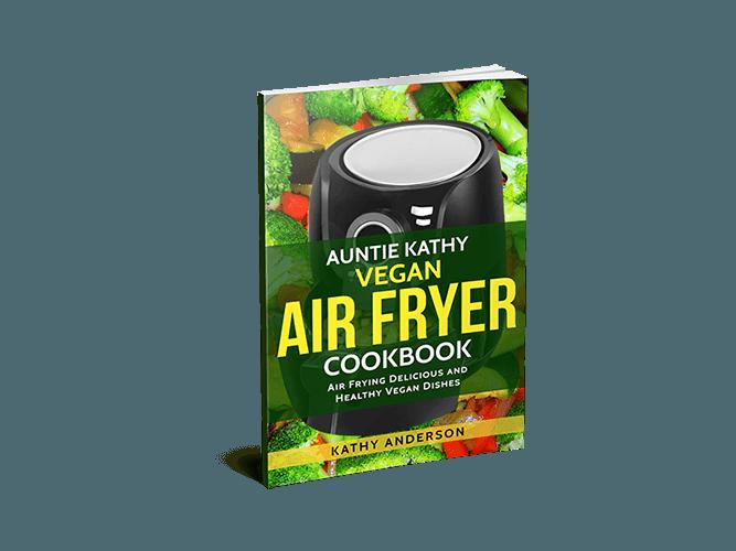auntie kathy vegan air fryer cookbook 3D